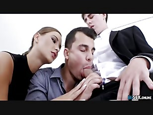 Blackmail Bi Office - Naomi Bennet, Nick Larsen, Steave