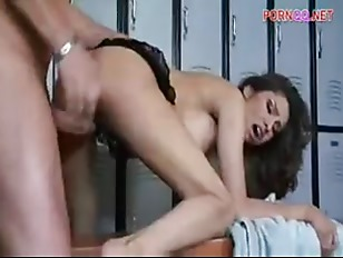 Massage Rooms Big natural tits brunette Sofia Lee oily inter